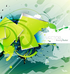 abstract grunge art vector image