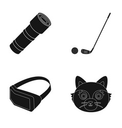 Animal technology and or web icon in black style vector