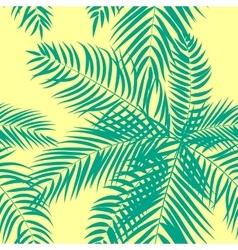Beautifil Palm Tree Leaf Silhouette Seamless vector