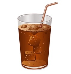 cola vector image