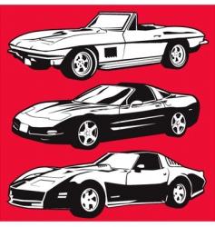 Corvettes vector