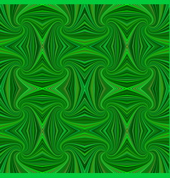 green seamless abstract psychedelic spiral stripe vector image