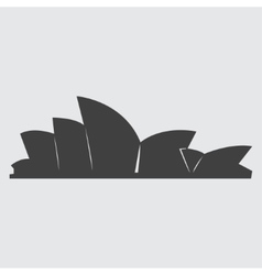Sydney Opera House icon vector
