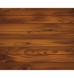 Wooden texture of dark brown boards For natural vector image