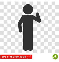 Child Opinion Eps Icon vector image vector image