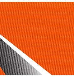 Orange and grey abstract background 002 vector image vector image