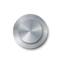 Realistic screw vector image