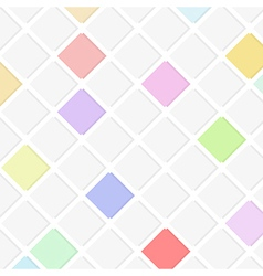 flat background with squares vector image vector image