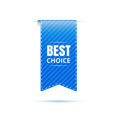 best choice bookmark icon discount price tags vector image