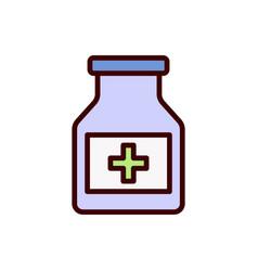 Drug icon pill icon vector