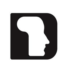 English font upper case letter d d logo logotype - vector