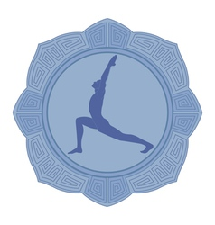 Man yoga vector