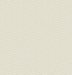 vintage background seamless waves vector image