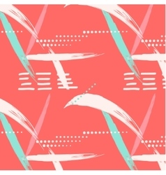 Abstract summer geometric endless pattern dots vector