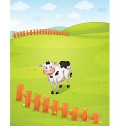 a cow vector image vector image