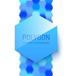 Abstract Polygonal Shape vector image
