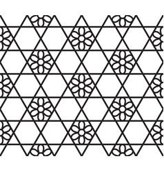 Abstract hexagonal pattern vector