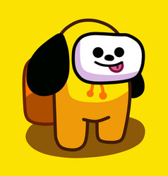 Bt21 among us chimmy cute funny vector