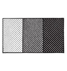 Half tone print vintage vector