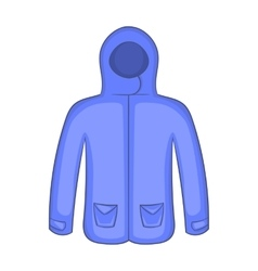 Hoodie sweater icon cartoon style vector