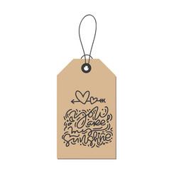 monoline calligraphy phrase you are my vector image