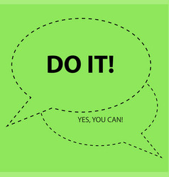 Motivation slogan just do it shia labeouf motiva vector