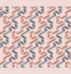 tender geometric labyrinth seamless pattern vector image