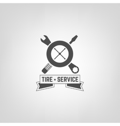 Tires Shop Logo007 A vector image