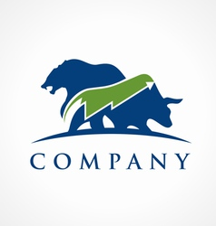 Trading logo vector