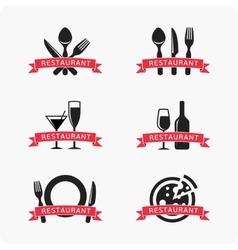 Emblem for restaurant vector image