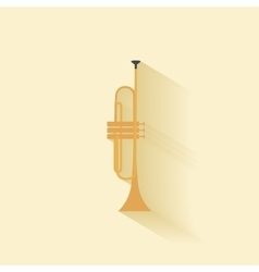 Abstract music instrument vector image