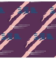 artistic color brushed violet coral stocks vector image