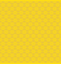 coin circle seamless pattern vector image