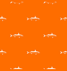 Fish pattern seamless vector