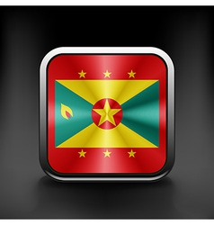 Grenada icon flag national travel icon country vector