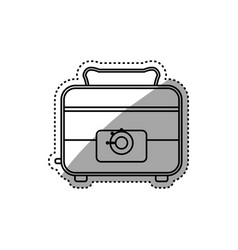 Toaster household appliances vector