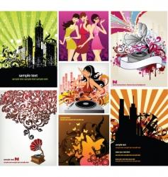 dance Dj vector image vector image