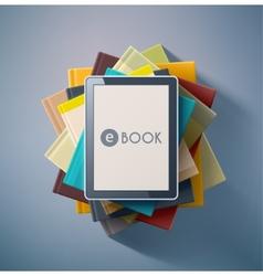 E-Book vector image vector image