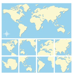 world map vector image