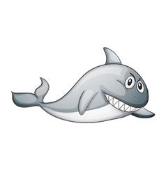 a shark vector image vector image