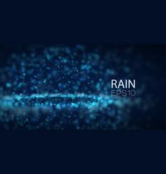 Abstract rain background splash drops vector