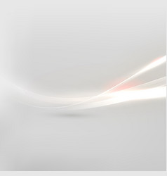 abstract shiny and flow background vector image