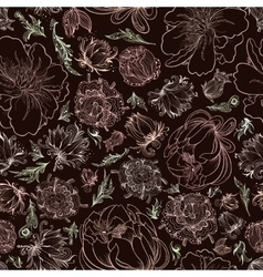 Creative Black Romantic Pattern vector