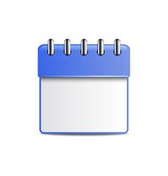 Engagement calendar vector