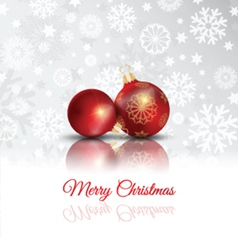 merry christmas background 2711 vector image