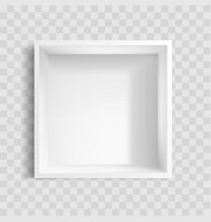 packaging box mockup vector image
