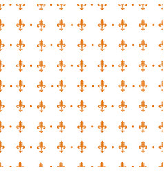 Pattern with royal lily vector
