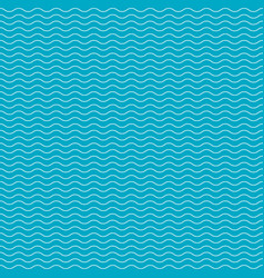 pattern with waves eps 10 vector image