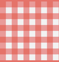 plaid red vector image