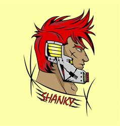Soldier warrior shanky vector